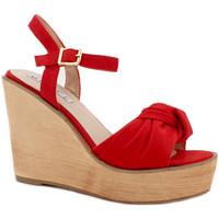 Chaussures Femme Sandales et Nu-pieds Gioie Italiane GZ180 Rouge