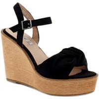 Chaussures Femme Sandales et Nu-pieds Gioie Italiane GZ180 Noir