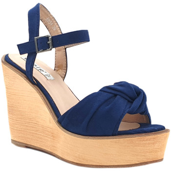 Chaussures Femme Sandales et Nu-pieds Gioie Italiane GZ180 Bleu