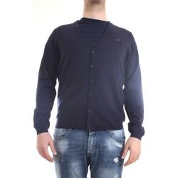Vêtements Homme Gilets / Cardigans Sun68 K40103 Cardigan homme bleu bleu
