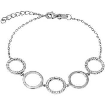 Montres & Bijoux Femme Bracelets Arbelo Bracelet  en Argent 925/1000 et Oxyde Blanc