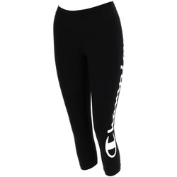 Vêtements Femme Leggings Champion Logo legging w noir blc Noir