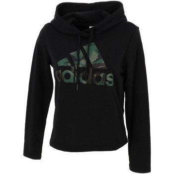 Vêtements Femme Sweats adidas Originals Camo blk cap sweat l Noir