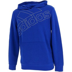 Vêtements Garçon Sweats adidas Originals Logo roy cap sweat jr Bleu moyen