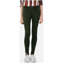Vêtements Femme Jeans slim Kebello Jean slim taille haute Taille : F Vert XS Vert