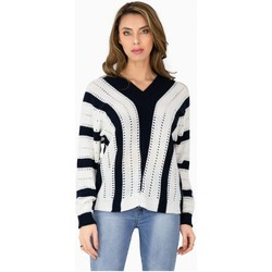 Vêtements Femme Pulls Kebello Pull grosse maille Taille : F Blanc S Blanc
