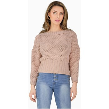 Vêtements Femme Pulls Kebello Pull grosse maille Taille : F Rose XS Rose