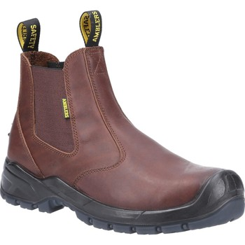 Chaussures Boots Amblers Safety AS307C Marron
