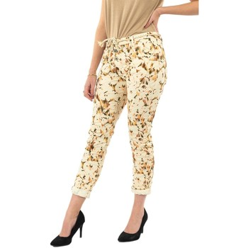 Vêtements Femme Pantalons Please p0pb 1125 madreperla beige