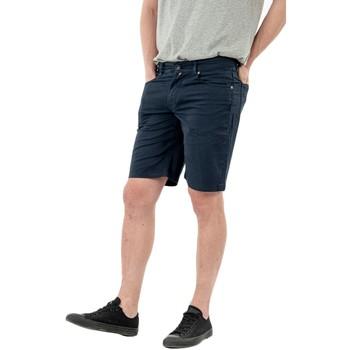 Vêtements Homme Shorts / Bermudas Serge Blanco serge o ber0205a 9510 dark navy bleu