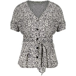 Vêtements Femme Tops / Blouses Deeluxe Blouse DANILA Print Leo