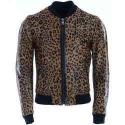 Vêtements Homme Blousons D&G Men Leather Jacket Brown