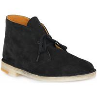 Chaussures Homme Boots Clarks DESERT BOOT BLKCOM Nero