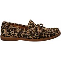 Chaussures Femme Mocassins Hundred 100  leo-beige-testa-di-m