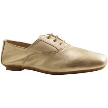 Chaussures Femme Derbies Reqin's HYDRA CUIR PLATINE