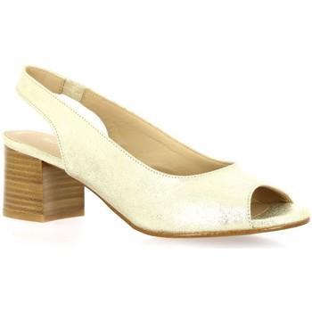Chaussures Femme Escarpins So Send Escarpins cuir laminé Or