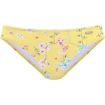 Vêtements Femme Maillots de bain séparables Lascana Bas maillot slip bain Ditsy Jaune