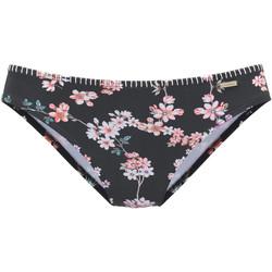 Vêtements Femme Maillots de bain séparables Lascana Bas maillot slip bain Ditsy Noir