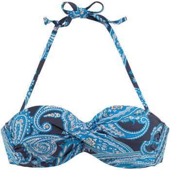Vêtements Femme Maillots de bain séparables Lascana Haut maillot de bain bandeau armaturé Boho Imprimé