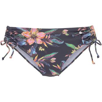 Vêtements Femme Maillots de bain séparables Lascana Bas maillot slip bain côtés froncés Malia Imprimé