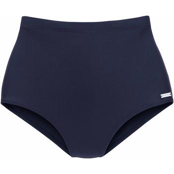 Vêtements Femme Maillots de bain séparables Lascana Bas maillot culotte bain amincissante Heidi Bleu Marine
