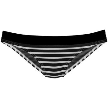 Vêtements Femme Maillots de bain séparables Lascana Bas maillot slip de bain Summer Noir-blanc