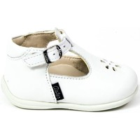Chaussures Fille Ballerines / babies Aster Babies cuir ODJUMBO blanc