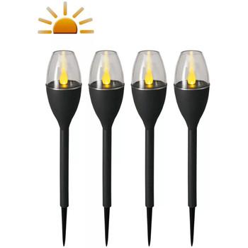 Maison & Déco Luminaires d'extérieur Luxform Lampe à piquet Gris