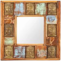 Maison & Déco Miroirs Vidaxl Miroir 50 x 50 cm Brun