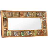 Maison & Déco Miroirs Vidaxl Miroir 110 x 50 cm Brun