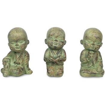 Maison & Déco Statuettes et figurines Signes Grimalt Little Buddha Ensemble De 3 Unités Crudo