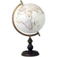 Maison & Déco Statuettes et figurines Signes Grimalt Globe Terrestre Blanco