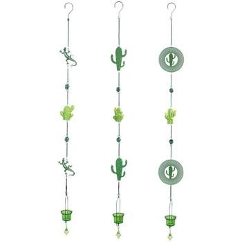 Maison & Déco Décorations festives Signes Grimalt Cactus T-Lite Pendentif Ensemble De 3U Verde