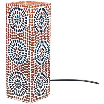 Maison & Déco Lampes à poser Signes Grimalt Lampe Rectangulaire Mosaïque Multicolor