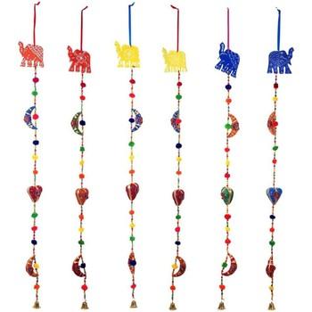 Maison & Déco Décorations festives Signes Grimalt Pendentif Éléphant Ensemble 6U Multicolor