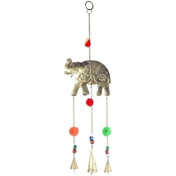 Maison & Déco Décorations festives Signes Grimalt Pendentif Éléphant Pompon Multicolor