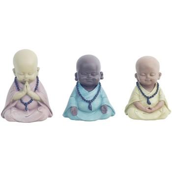 Maison & Déco Statuettes et figurines Signes Grimalt Bouddha Ensemble De 3 Unités Multicolor