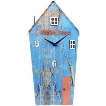 Maison & Déco Horloges Signes Grimalt Wood House Horloge Régénérées Azul
