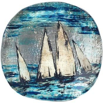 Maison & Déco Vides poches Signes Grimalt Plat Rond Bateau Azul