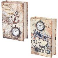 Maison & Déco Malles, coffres de rangements Signes Grimalt Boîte Book 2 Ensemble Différent De 2U Multicolor
