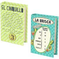 Maison & Déco Paniers, boites et corbeilles Signes Grimalt Boîte Book 2 Ensemble Différent De 2U Multicolor