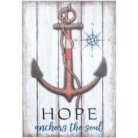 Maison & Déco Tableaux, toiles Signes Grimalt Table Hope Anchor Mur Multicolor