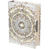 Maison & Déco Malles, coffres de rangements Signes Grimalt Mandala Book Box Sécurité Marrón