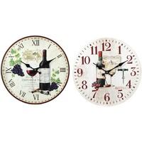 Maison & Déco Horloges Signes Grimalt Montre De Vin 2 Ensemble Différent De 2U Multicolor