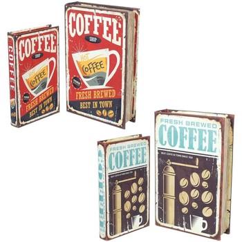 Maison & Déco Malles, coffres de rangements Signes Grimalt De 2 Coffret Book Set 4U Multicolor
