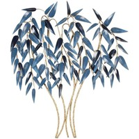 Maison & Déco Tableaux, toiles Signes Grimalt Weeping Willow Tree Azul