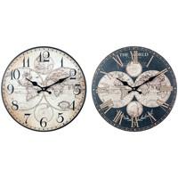 Maison & Déco Horloges Signes Grimalt Horloge Mondiale Mis 2U Mur Multicolor
