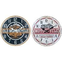 Maison & Déco Horloges Signes Grimalt Moto Horloge Murale Mis 2U Multicolor