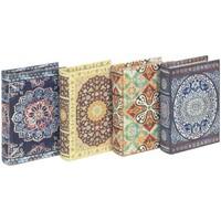 Maison & Déco Malles, coffres de rangements Signes Grimalt Boîtes De Papier Sont 4U Mandala Multicolor