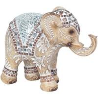 Maison & Déco Statuettes et figurines Signes Grimalt Miroir Elephant Marrón